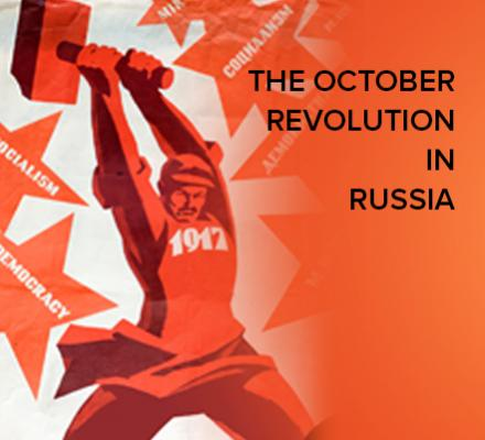 The October Revolution in Russia, 1917