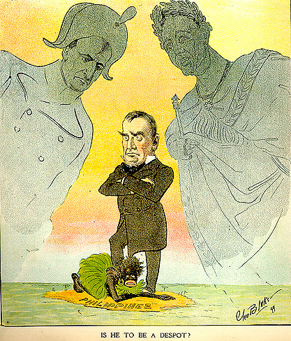 Picture of McKinley as the Imperial Despot