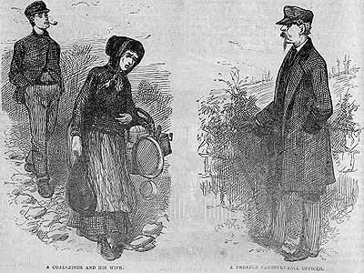 """A Coal Miner and His Wife"" and ""A Dreaded Pennsylvania Officer"""
