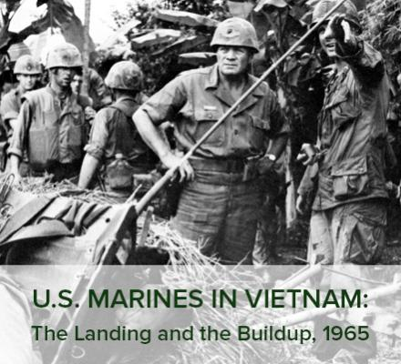 Book Cover: U.S. Marines in Vietnam: The Landing and the Buildup,1965